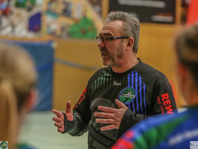 Coach Noll-Jansen war ganz und gar nicht zufrieden mit der Einstellung seiner Damen.