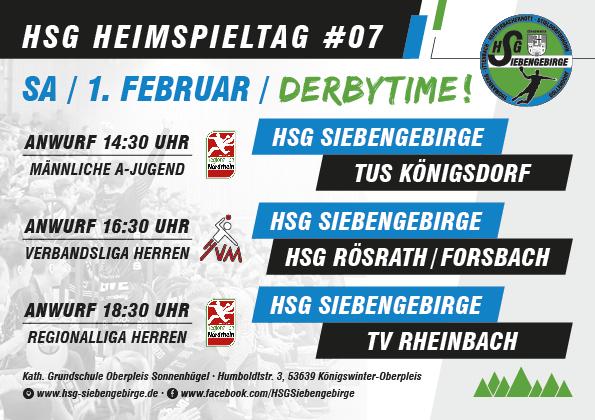 HSG Heimspieltag 01 02 2020