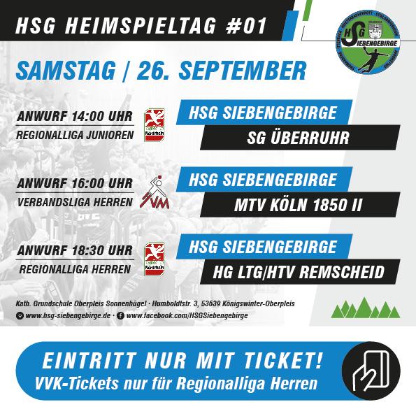 HSG Heimspieltag 26 09 2020
