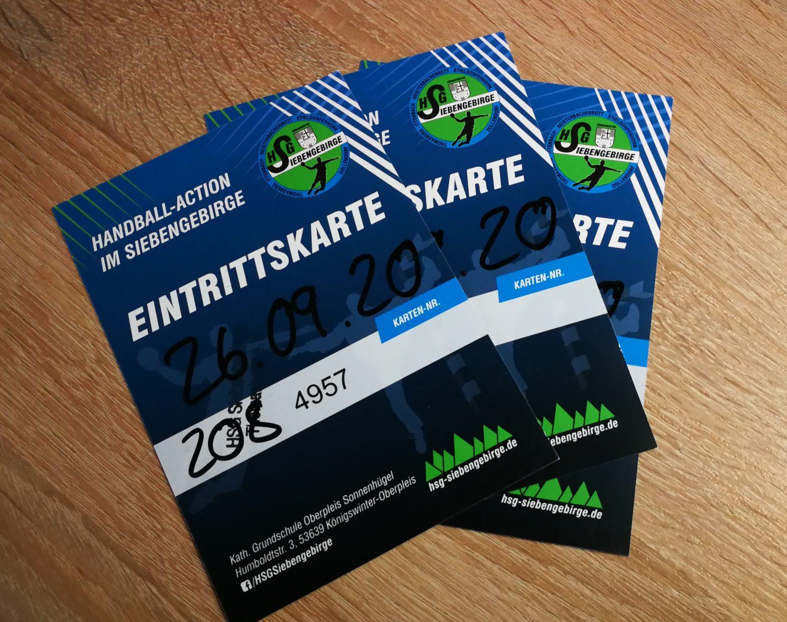 HSG2021 Tickets Heimspieltag 01